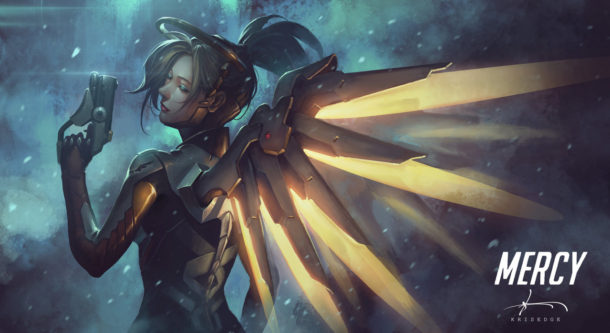 mercy___overwatch_fanart_by_krisedge-d9ijcz1