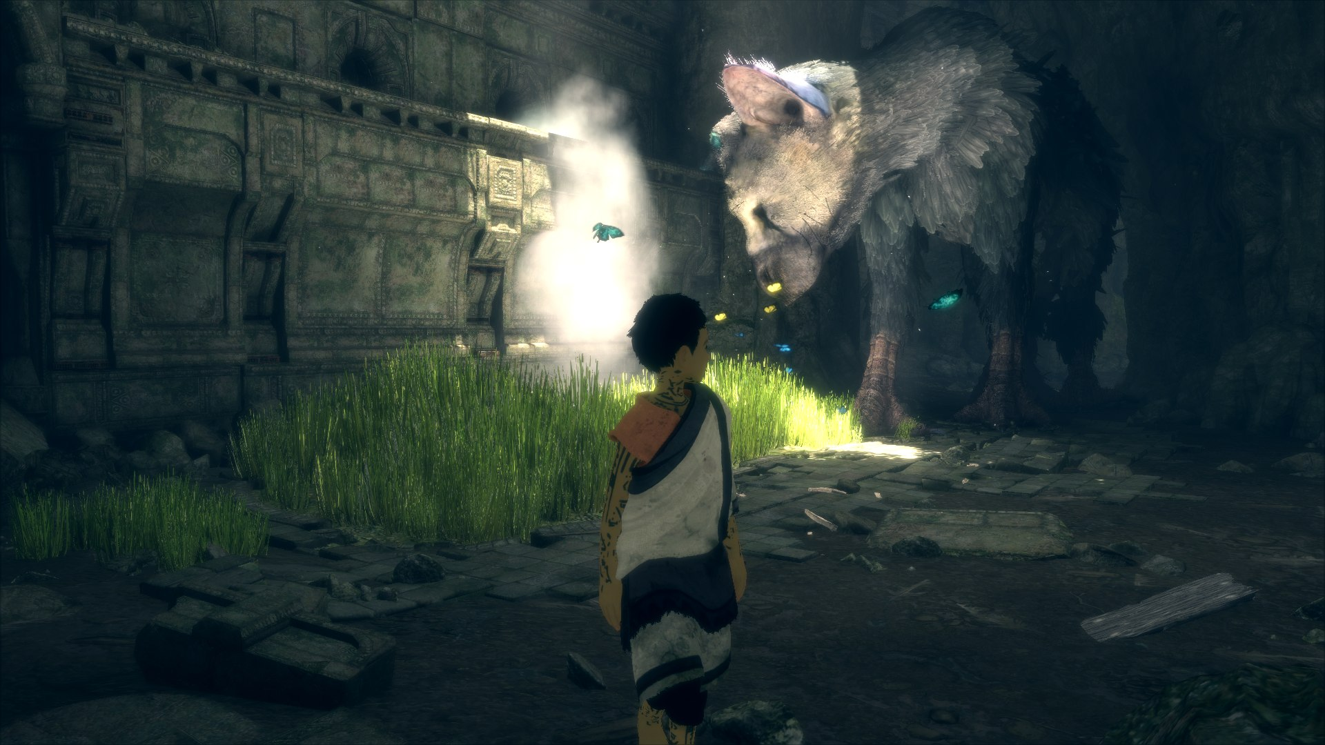 The Last Guardian Trico Screenshot 01