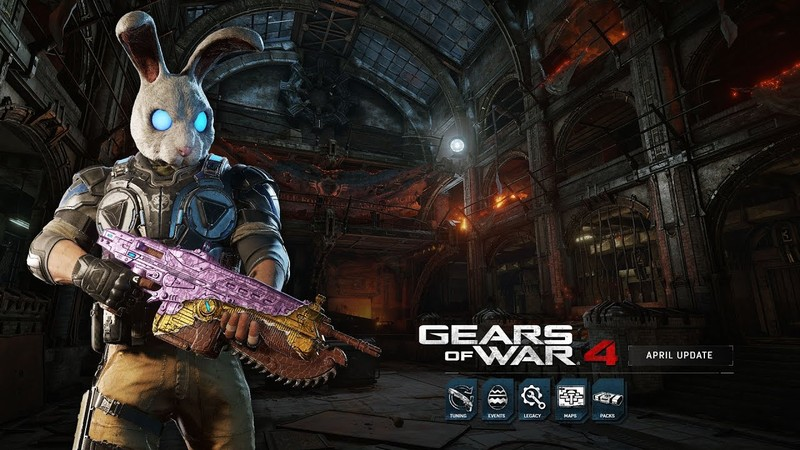 Gears of War 4 april