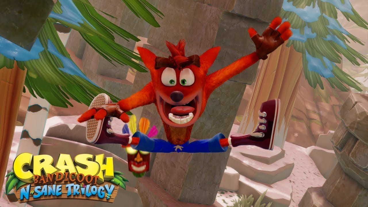 Crash Bandicoot by Activision