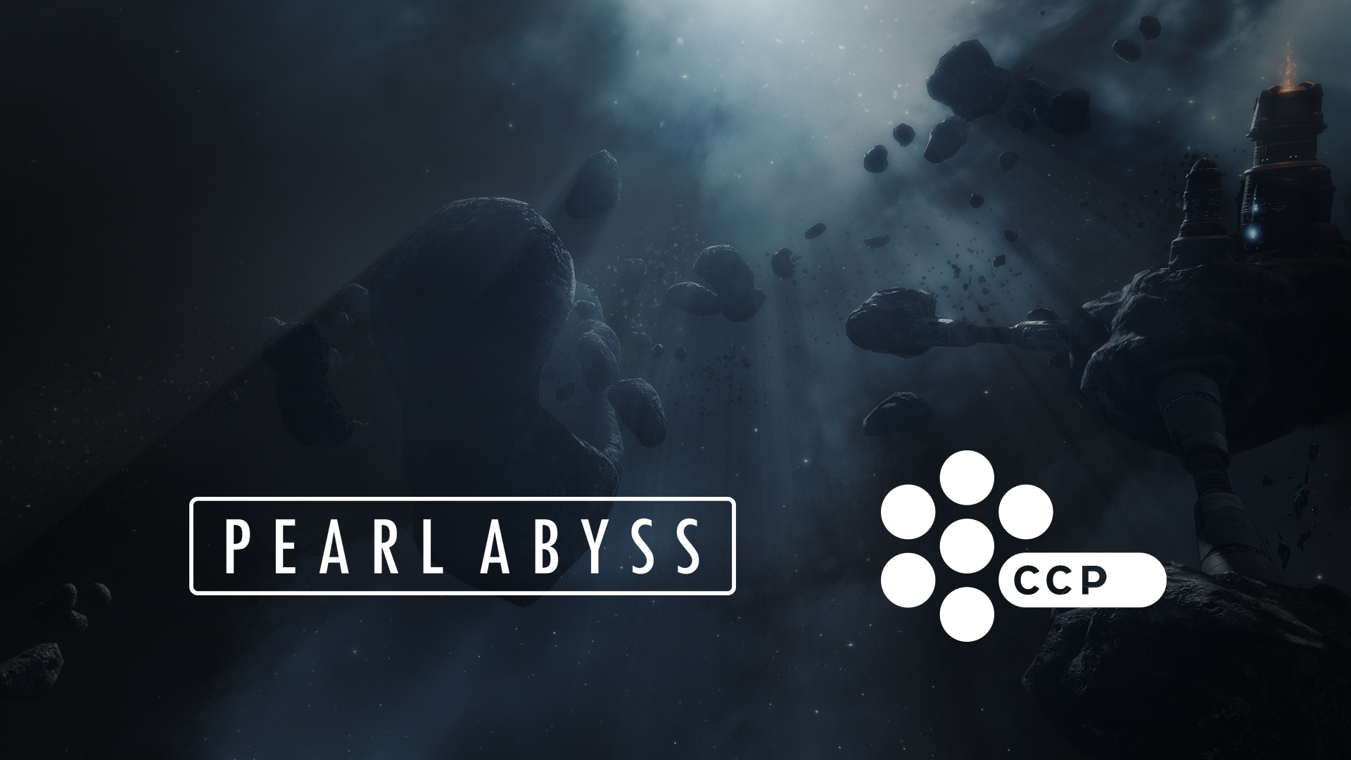Pearl Abyss CCP Games Logo