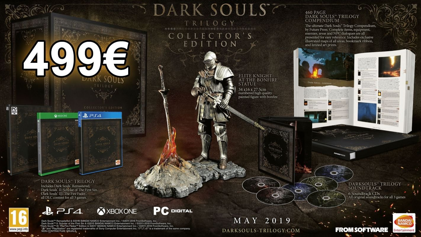 Dark Souls Trilogy Collectors Edition Price