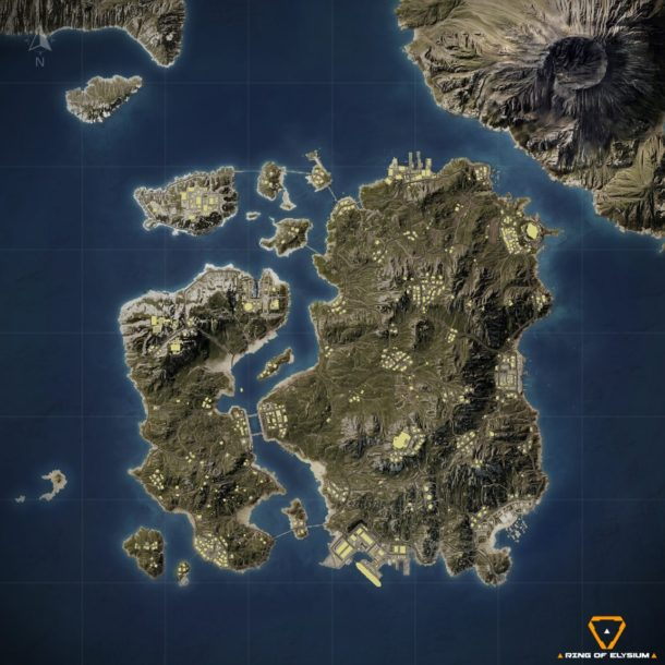 Ring of Elysium - Europa Island Map