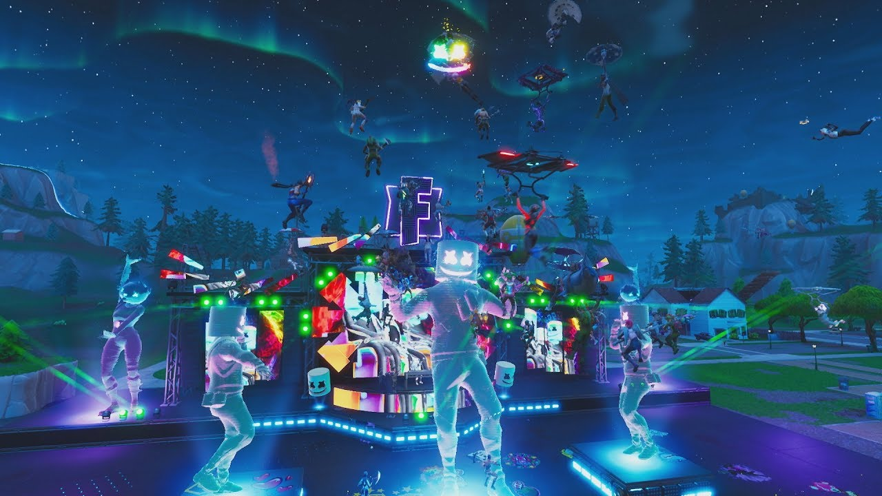 Marshmello Fortnite Event