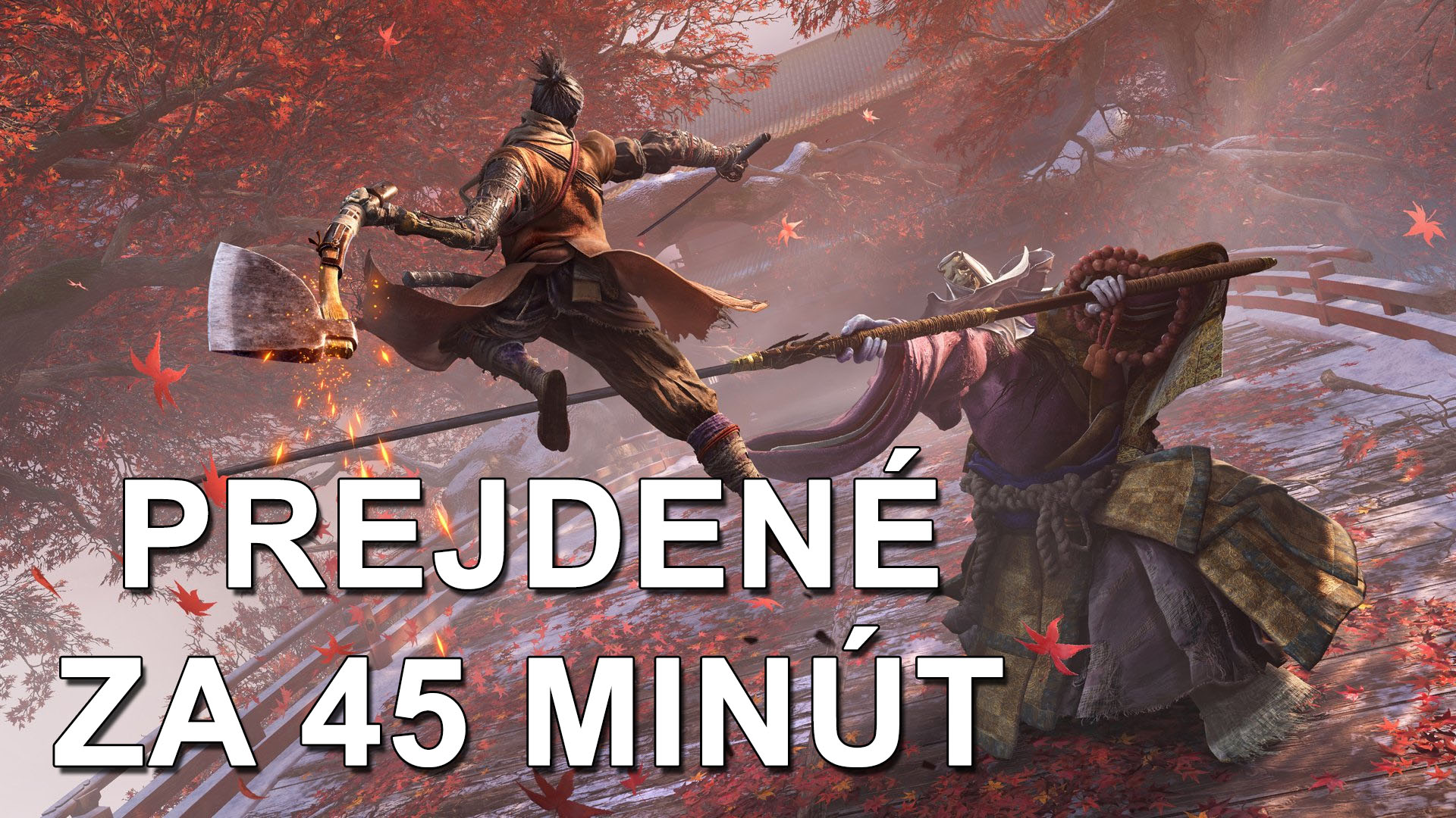 Sekiro Speed Run Record