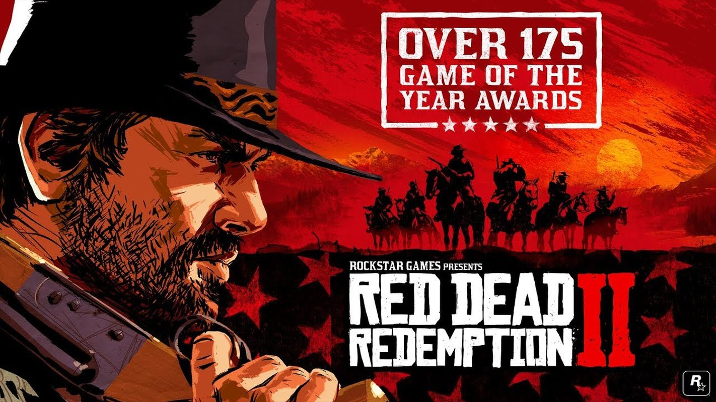 red dead redemption 2 - game of the year