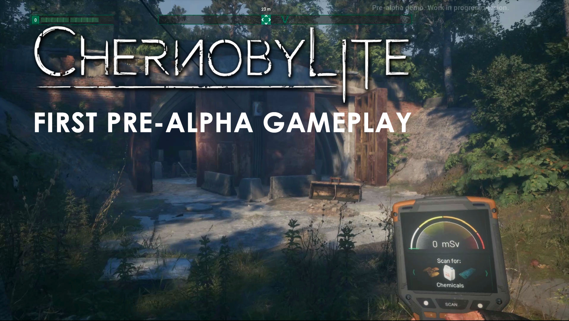 Chernobylite Gameplay video