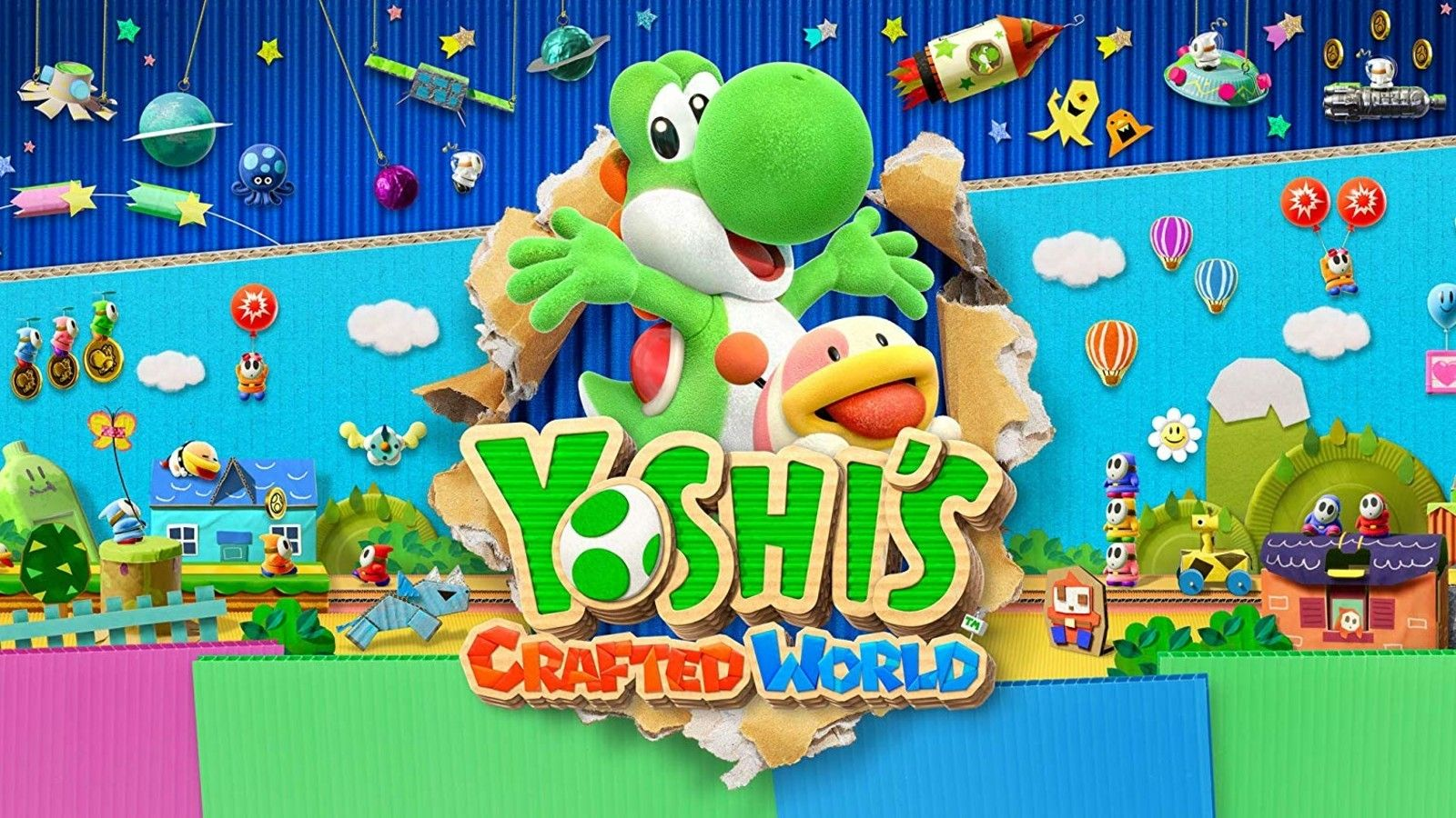 Nintendo Yoshis Crafted World