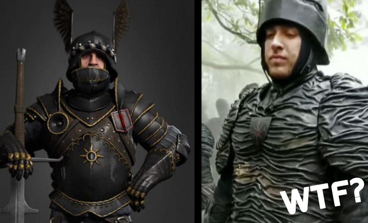 The Witcher Netflix Nilfgaard Armor Soldier