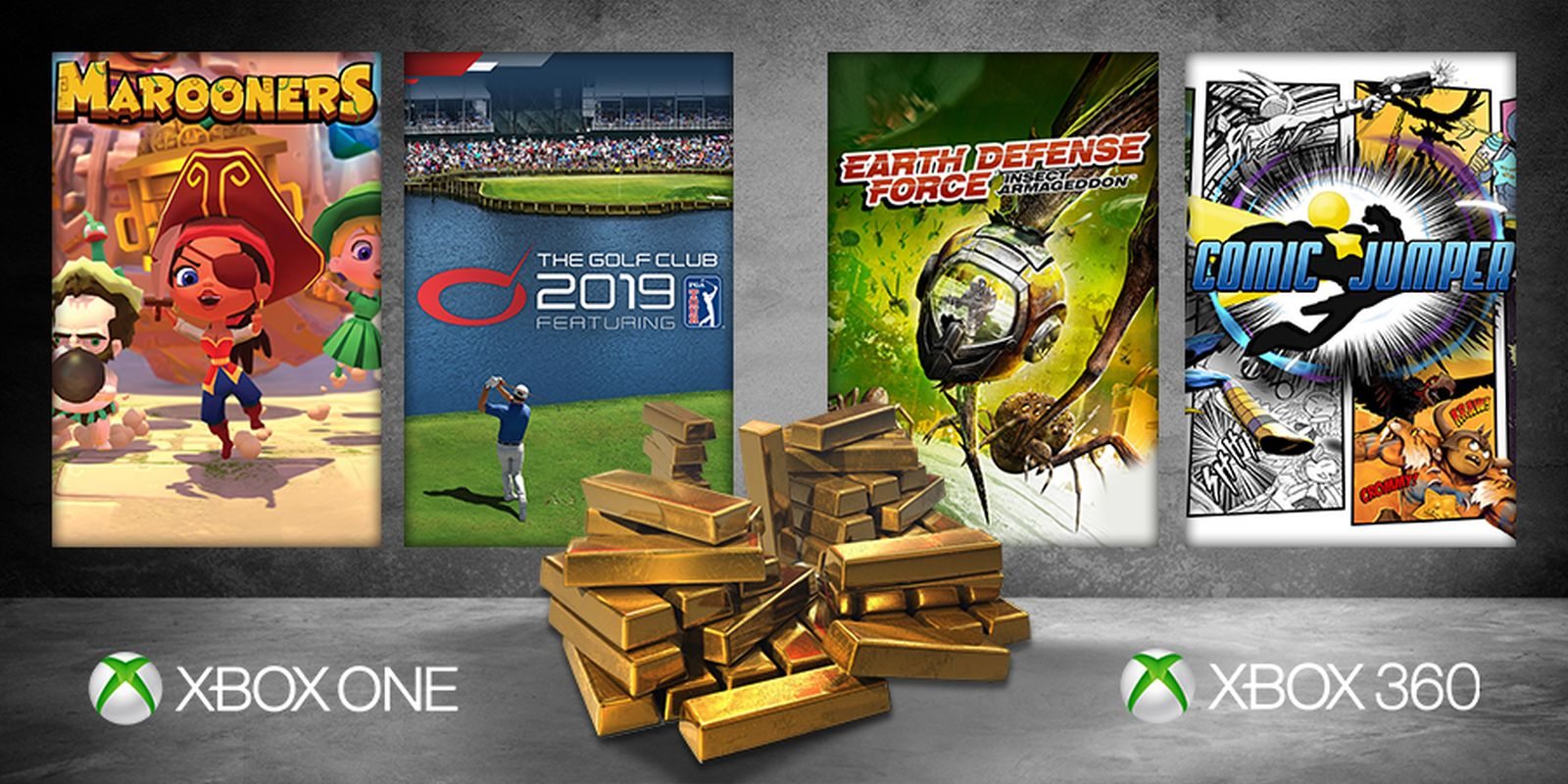Xbox Games With Gold Maj 2019