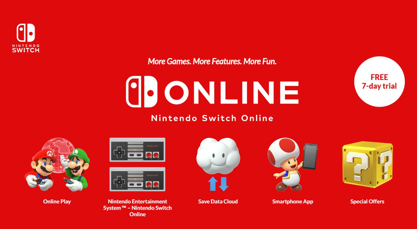 Nintendo Switch Online Služba