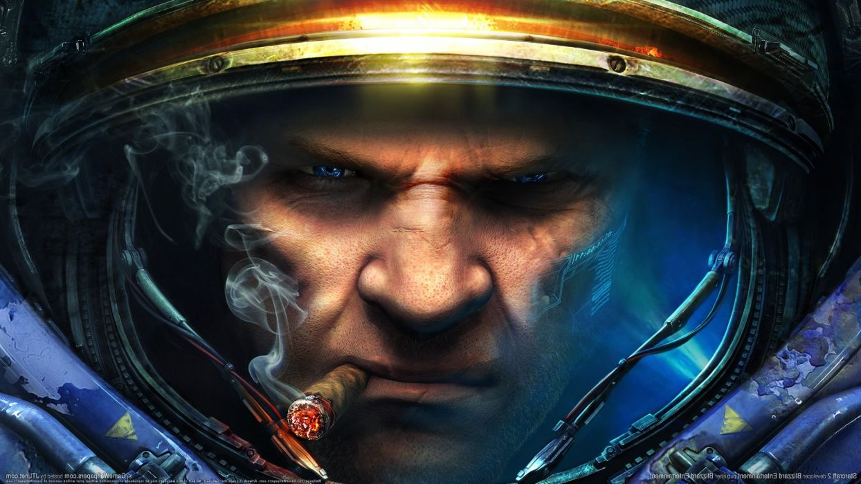 Starcraft 2 Cigarette