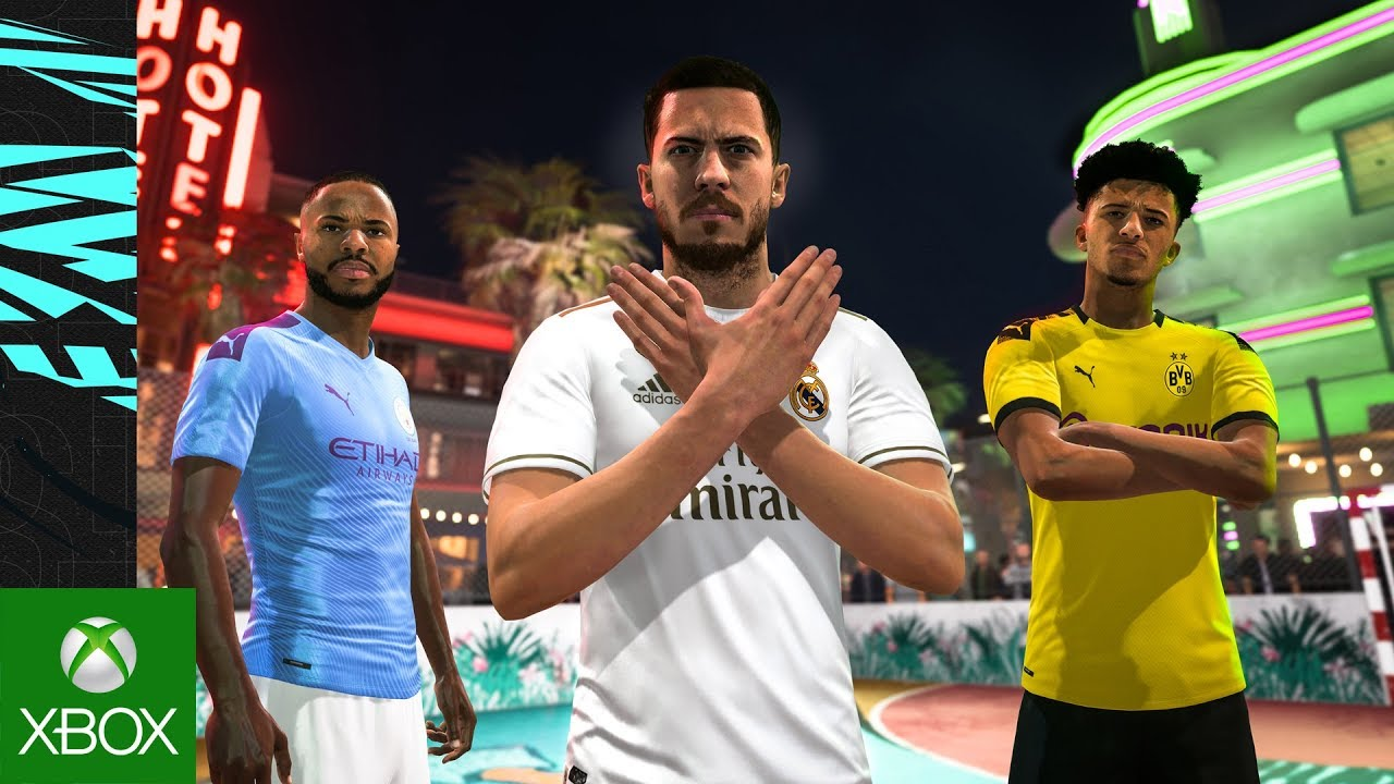 FIFA 20 Volta Gameplay Trailer