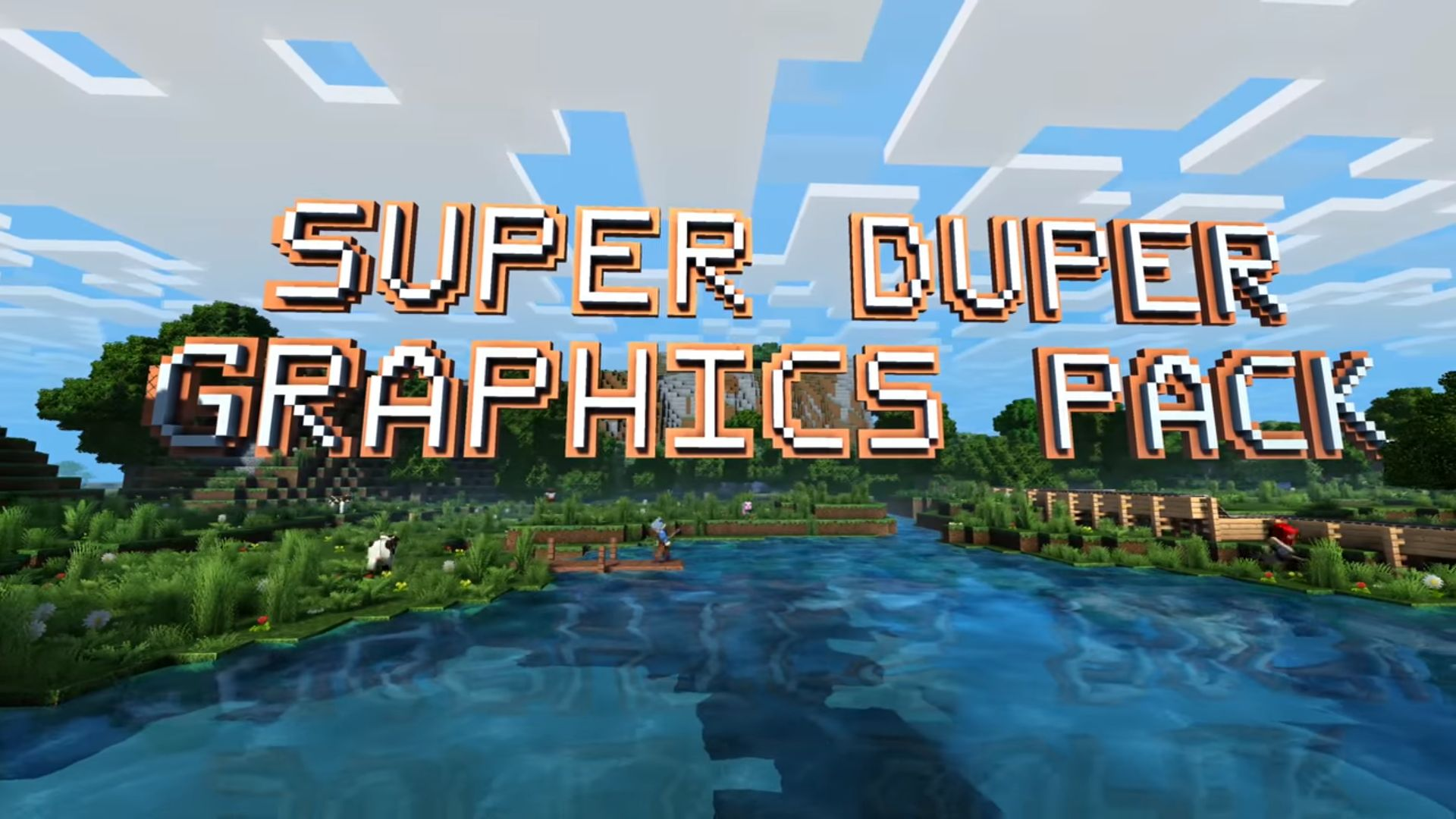 Minecraft Super Duper Graphic Pack