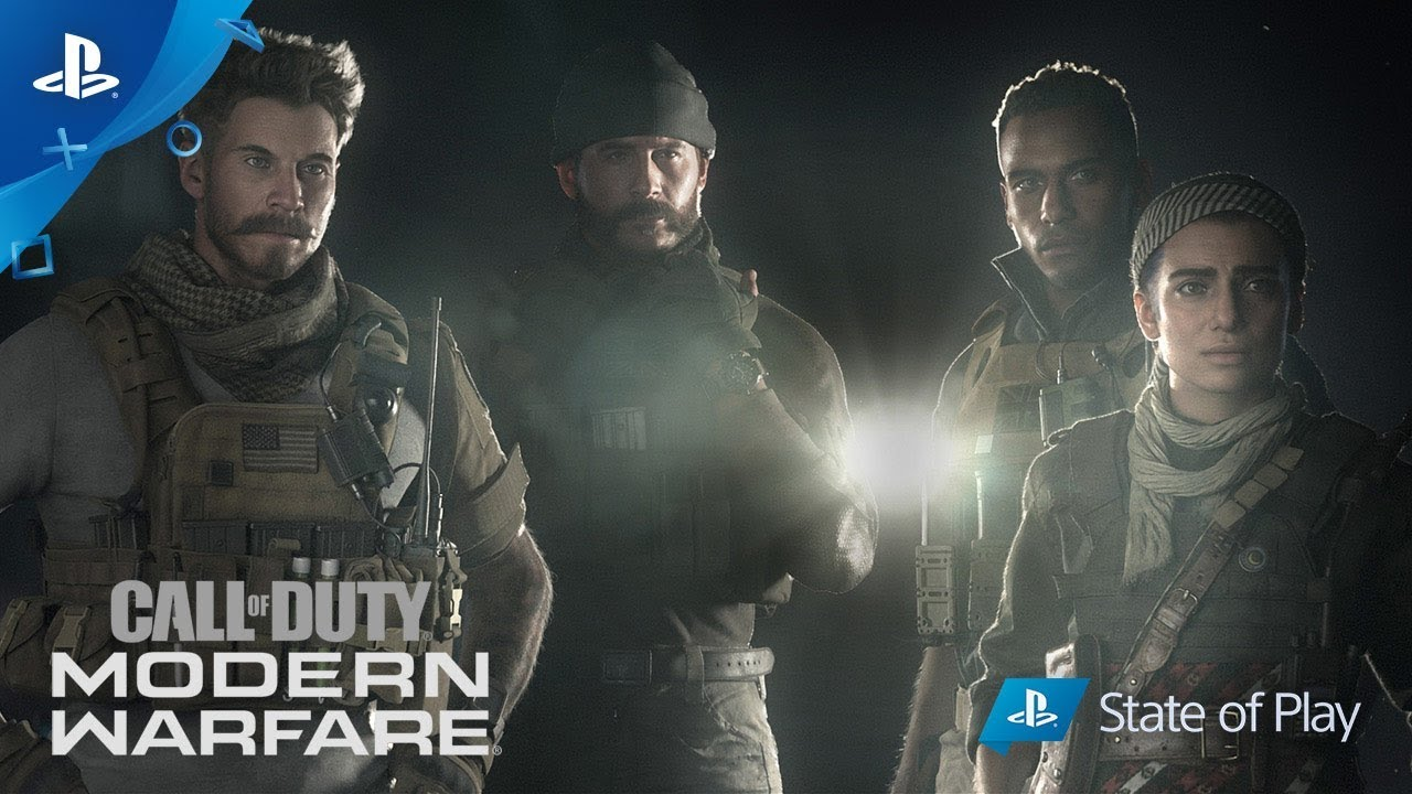 COD Modern Warfare Story Trailer