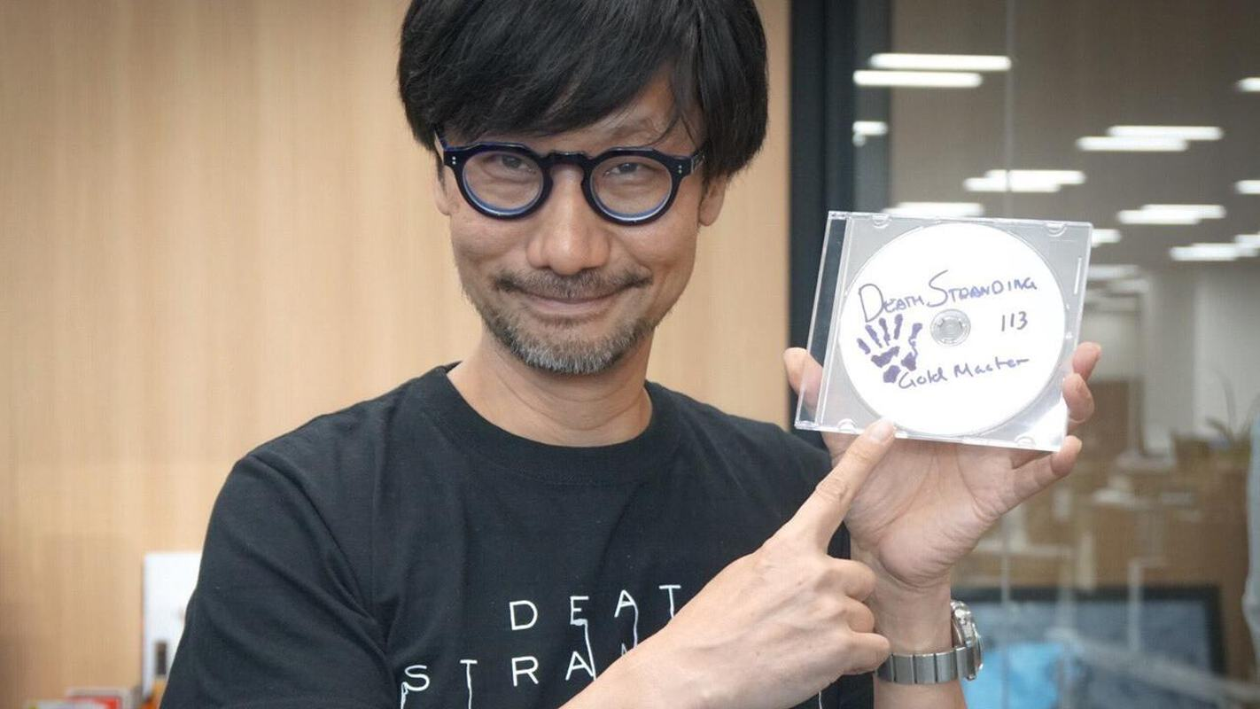 Hideo Kojima with Death Stranding