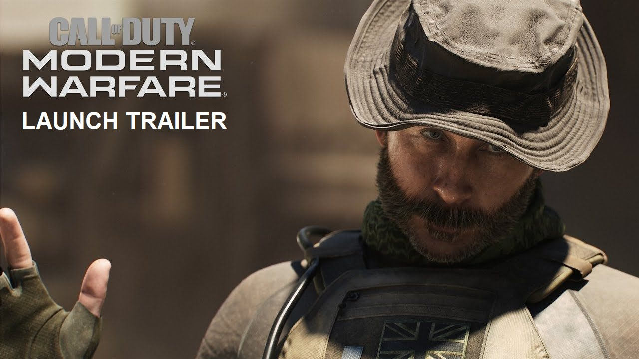 COD Modern Warfare launch Trailer