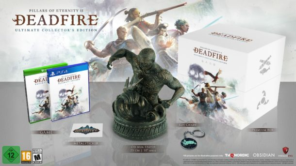 Pillars of Eternity II Deadfire Ultimate Edition Ultimate Collector's Editon