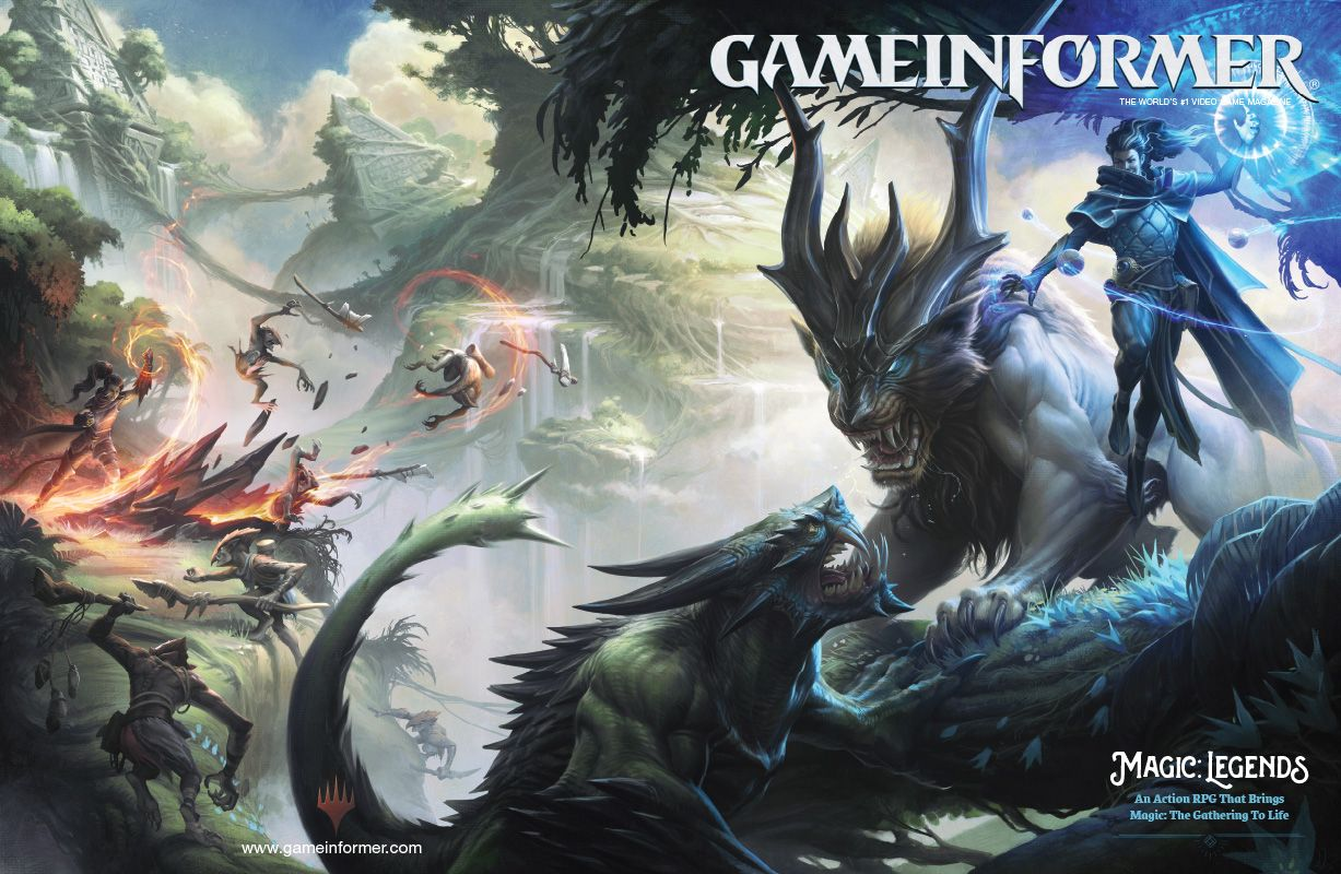 Magic Legends Game Informer Cover