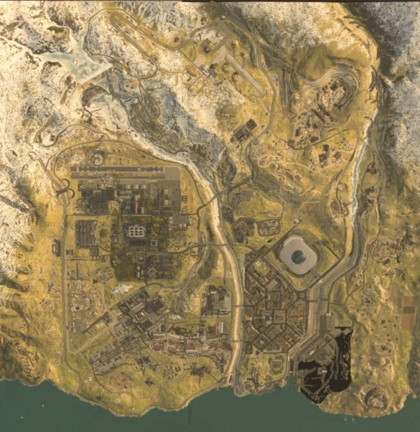 COD Modern Warfare Battle Royale Map