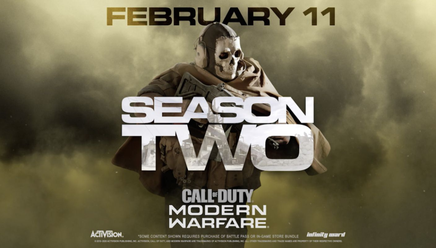 COD Modern Warfare Season 2 Ghost