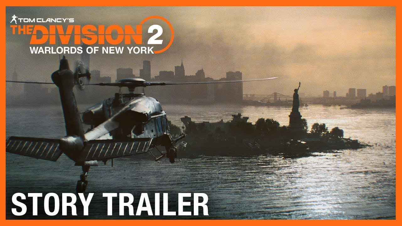 The Division 2 New York Story Trailer