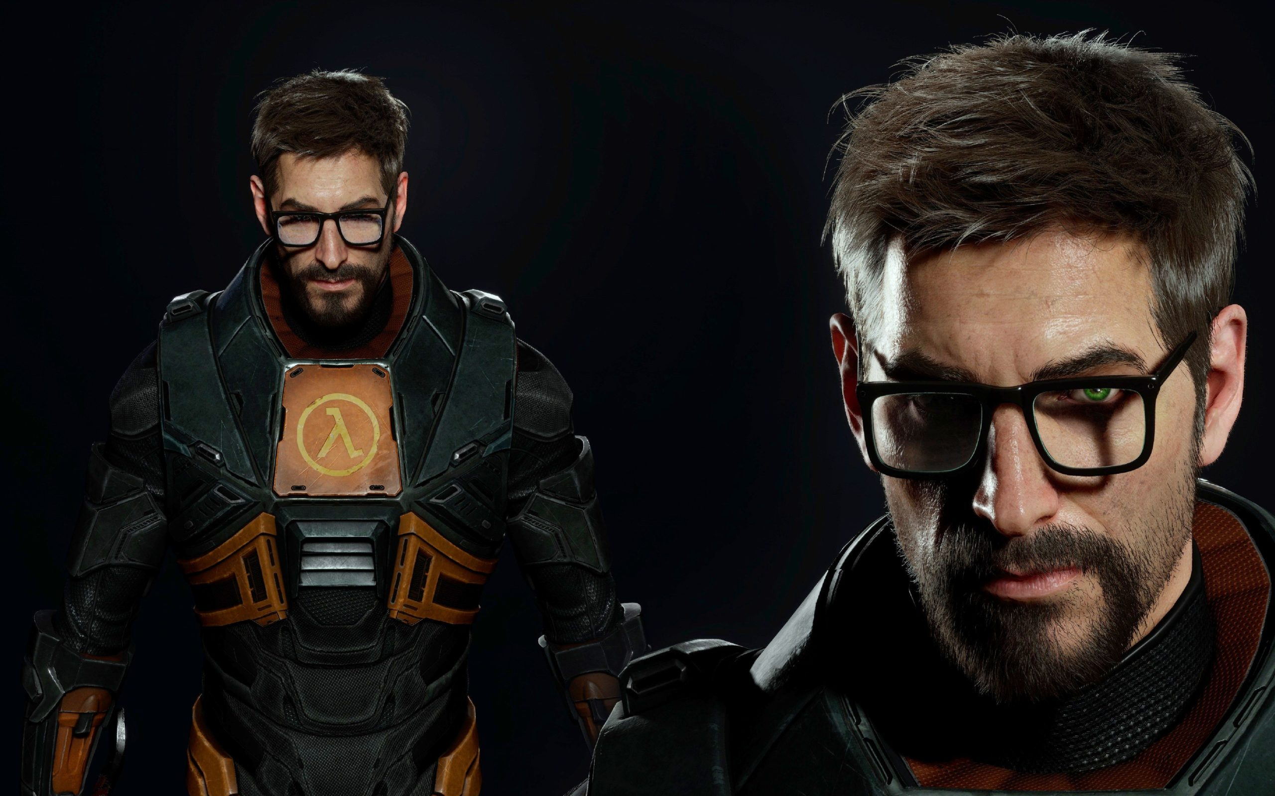 Gordon Freeman Face HEV Suit Half-Life 3