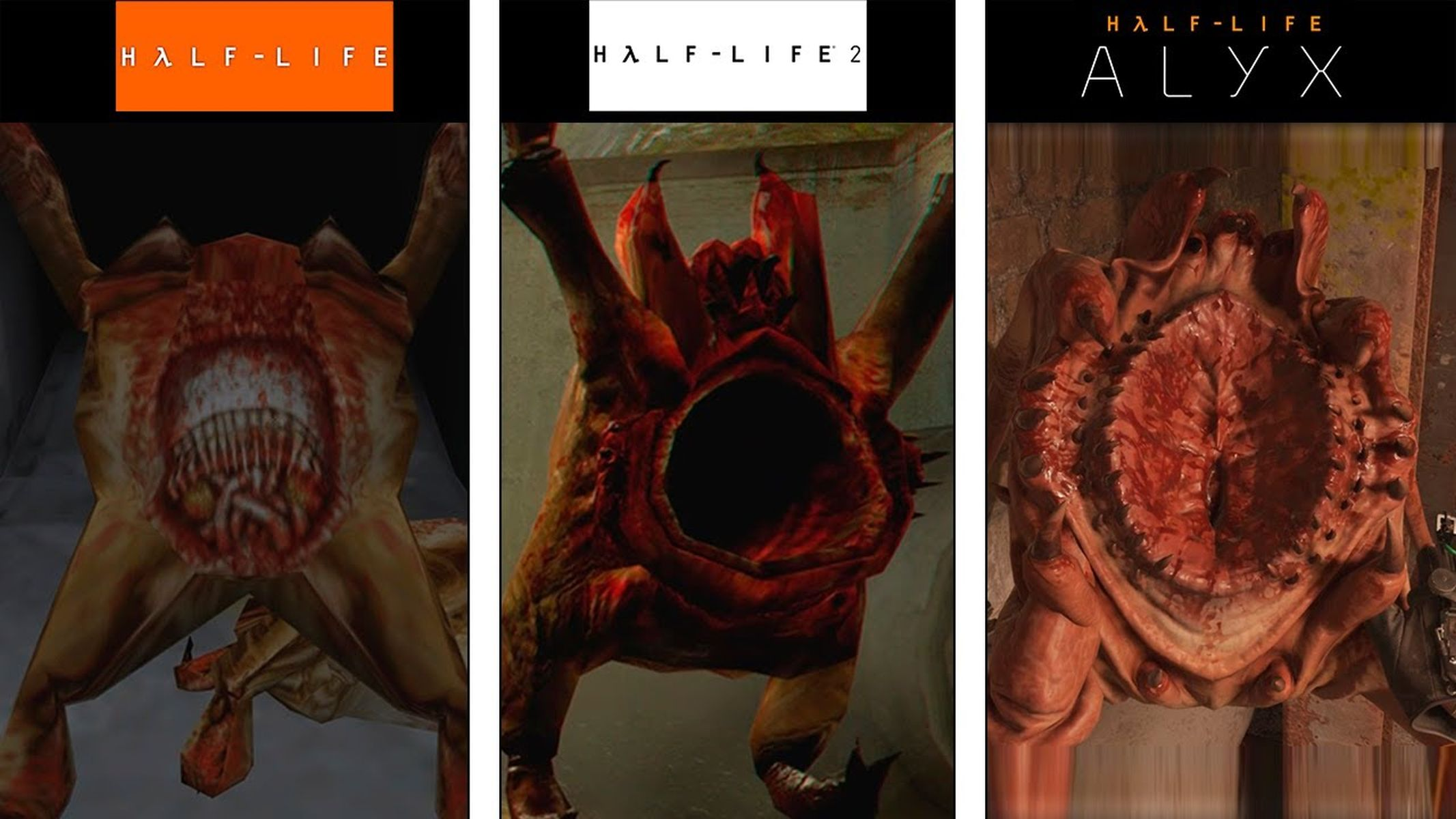Half-Life Headcrab evolution