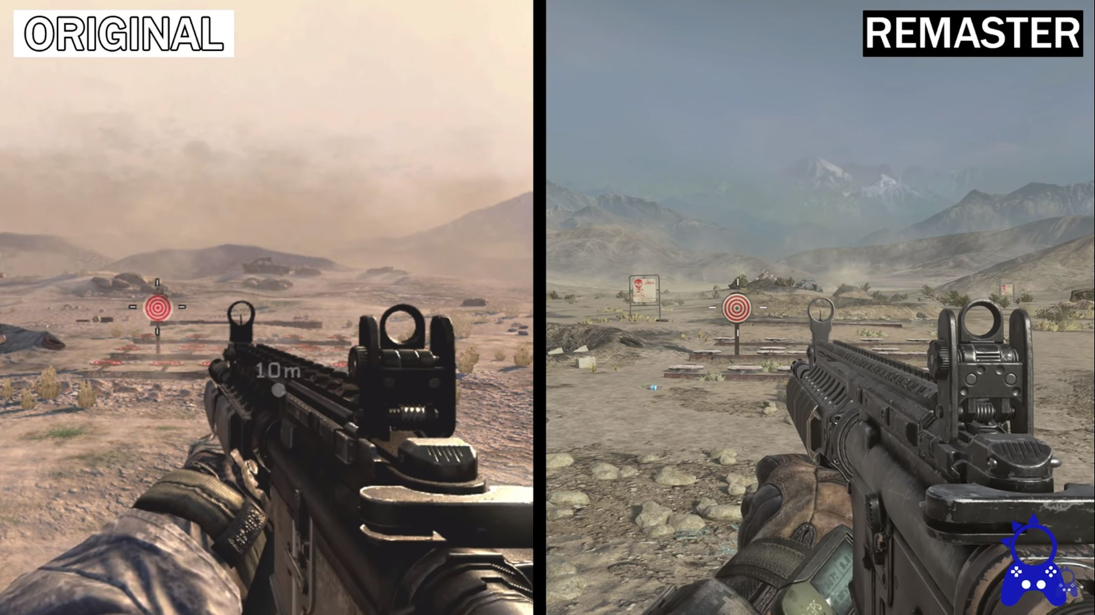 COD Modern Warfare 2 comparison