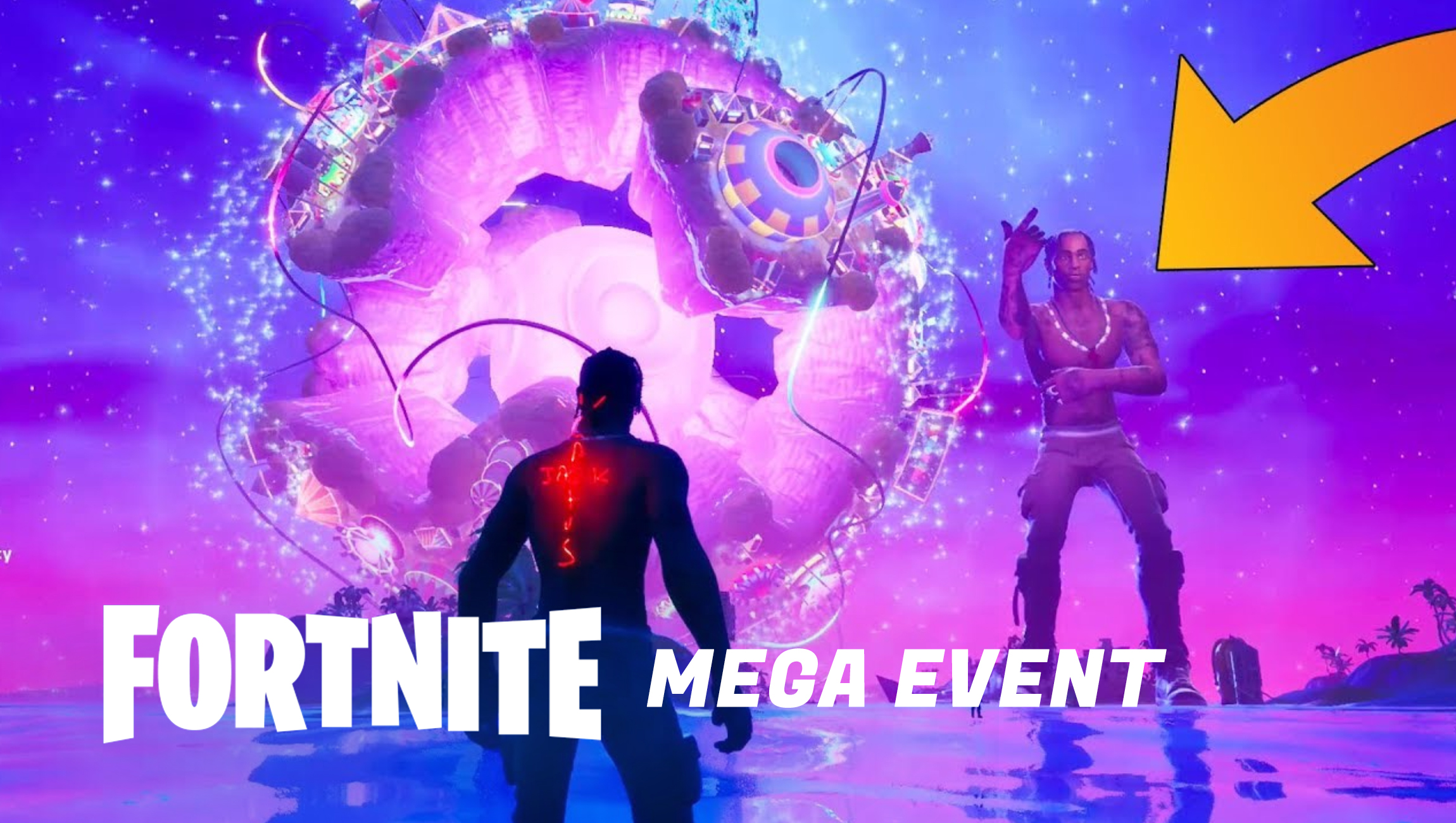 Fortnite Event Travis Scott