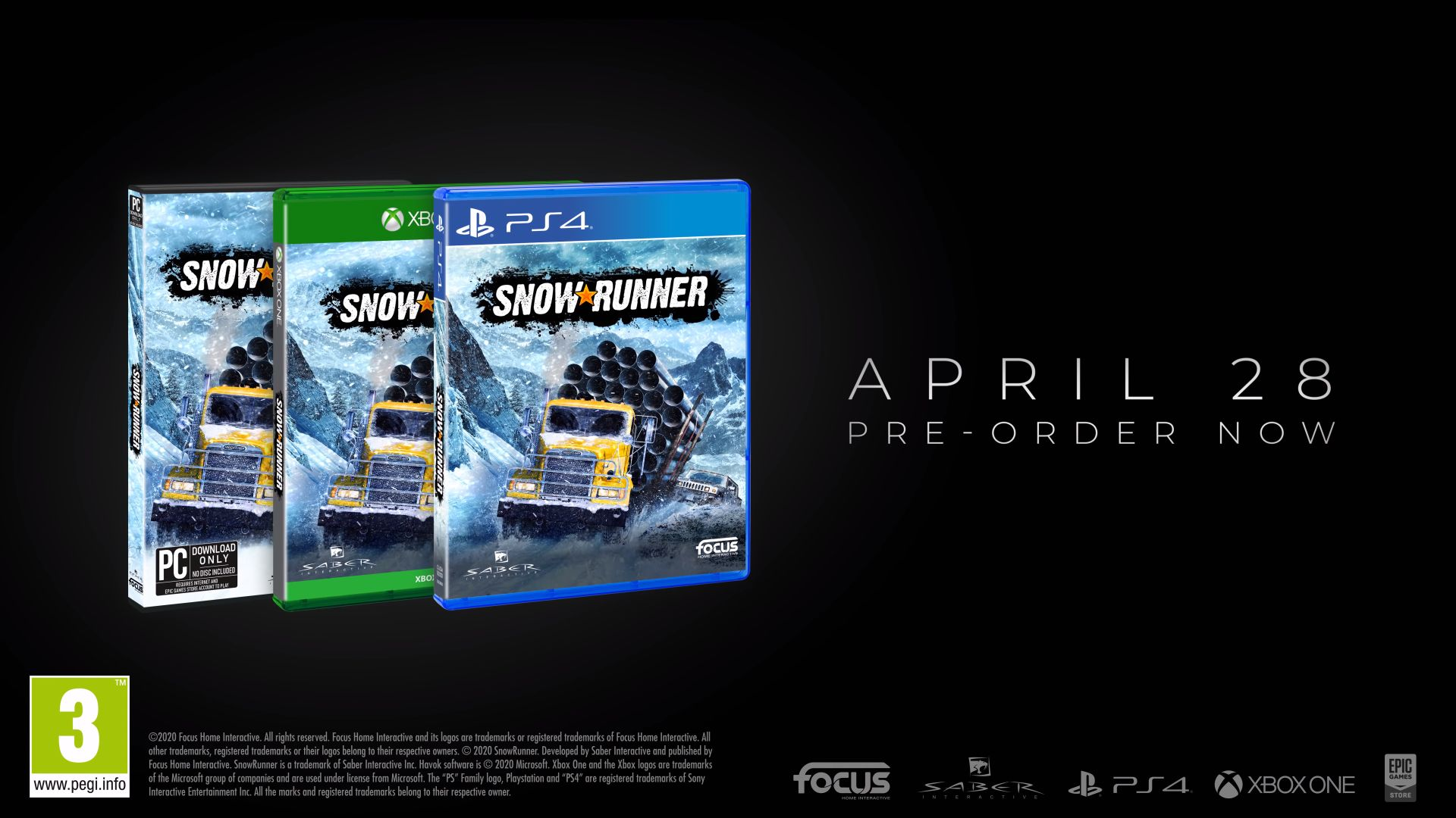 Snowrunner PC Game