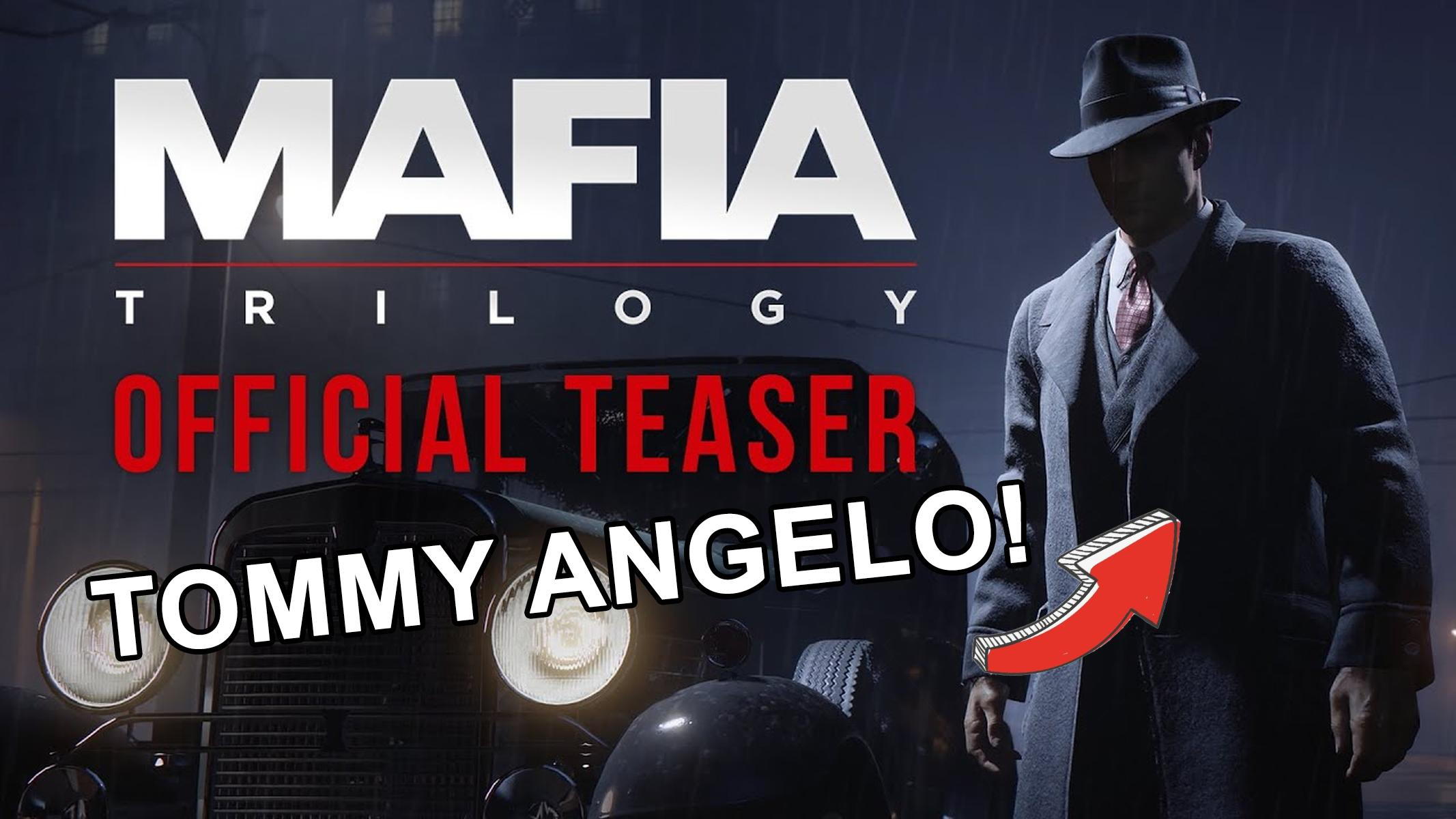 Mafia 1 Remaster Tommy Angelo