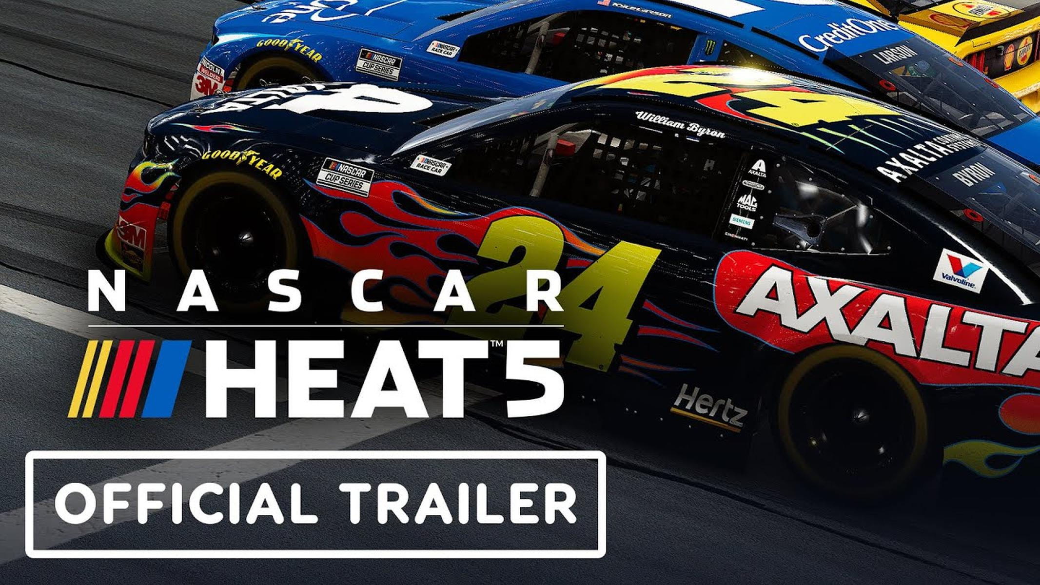 Nascar Heat 5 Gameplay Trailer
