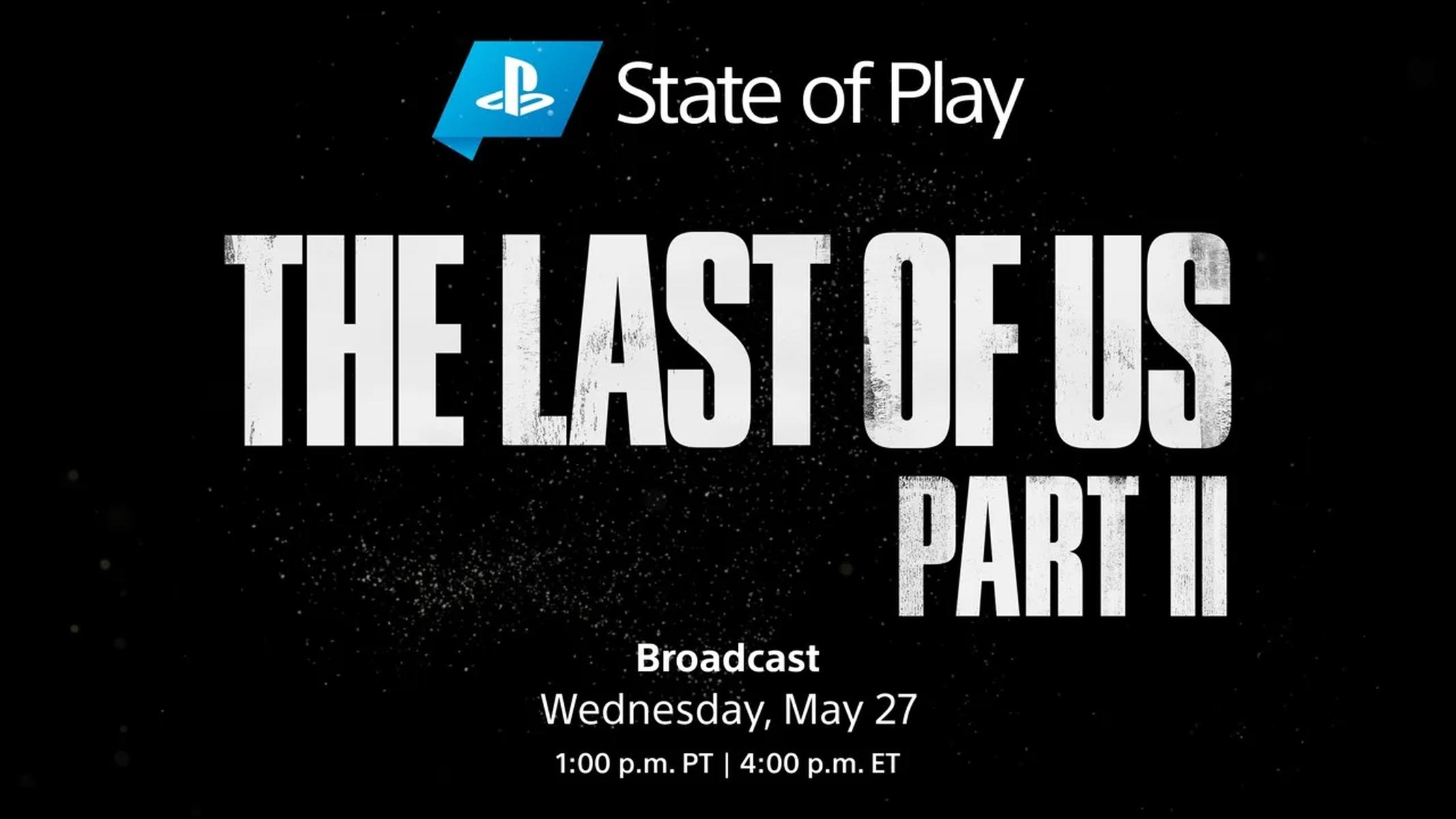State of Play The Last of Us 2