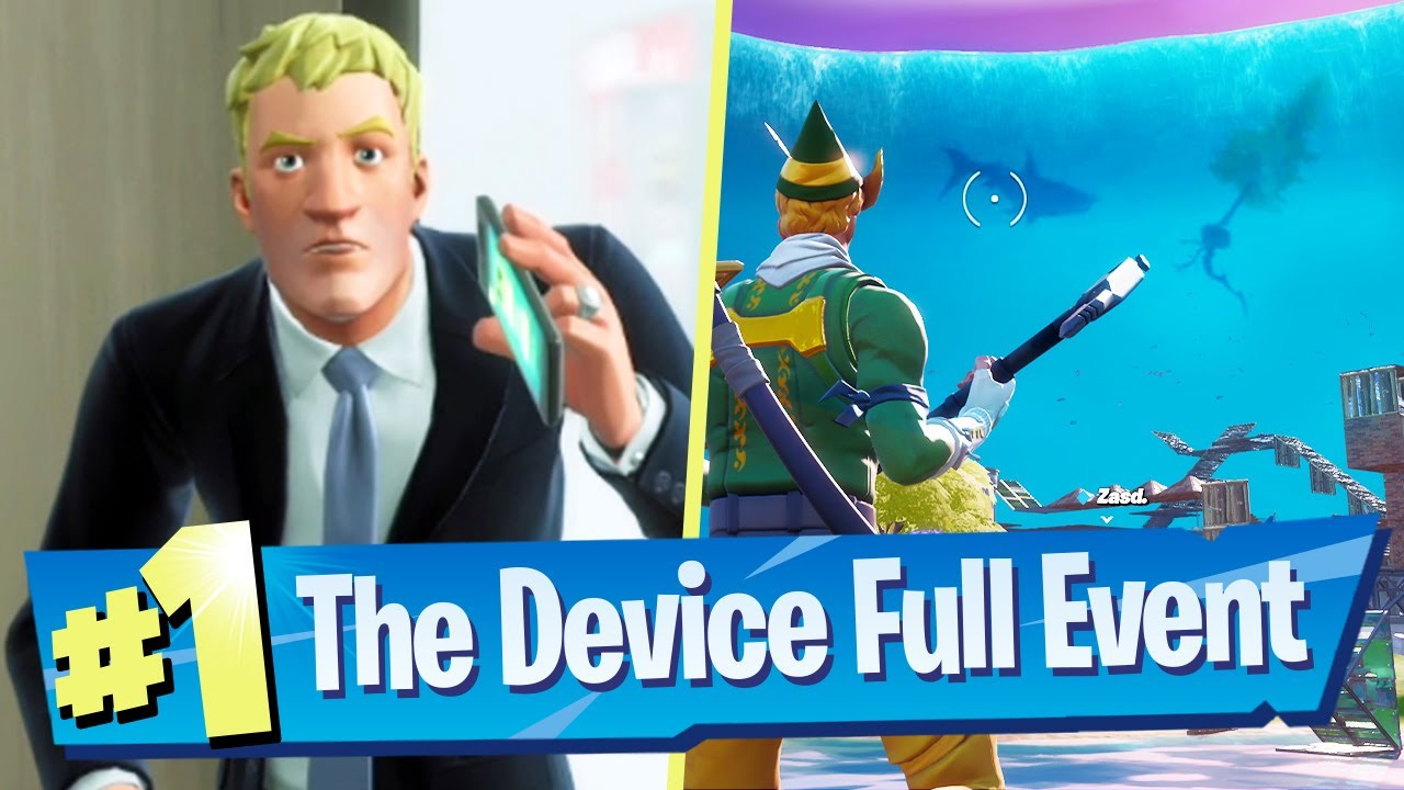 Fortnite The Device Full Event