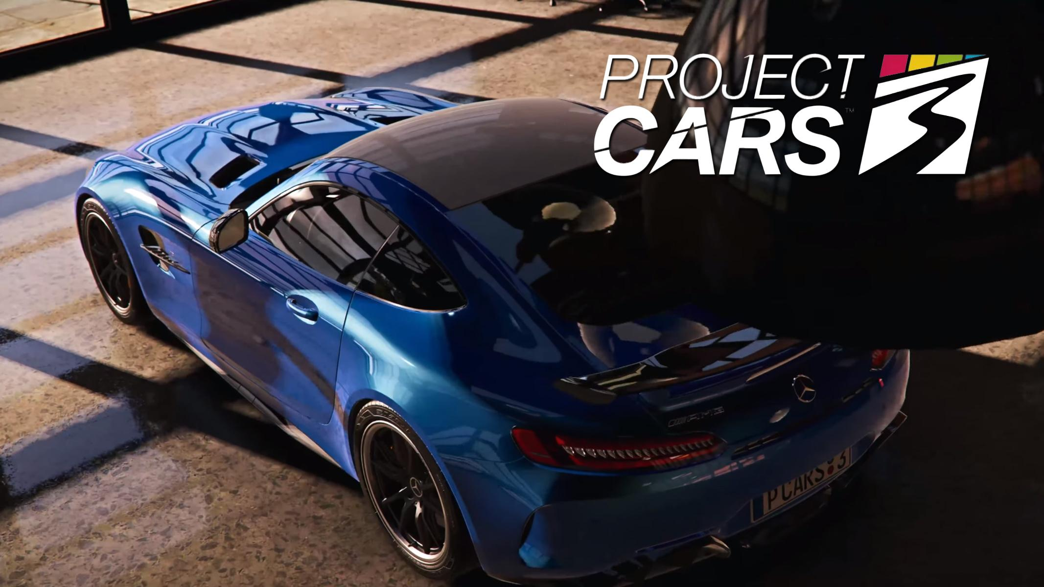 Project Cars 3 PS4 Trailer