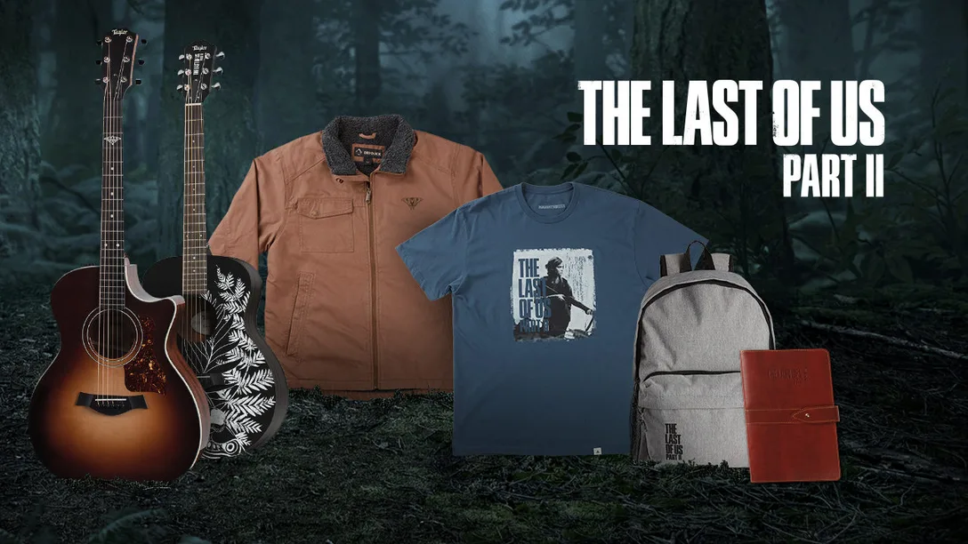 The Last of Us Part 2 merch