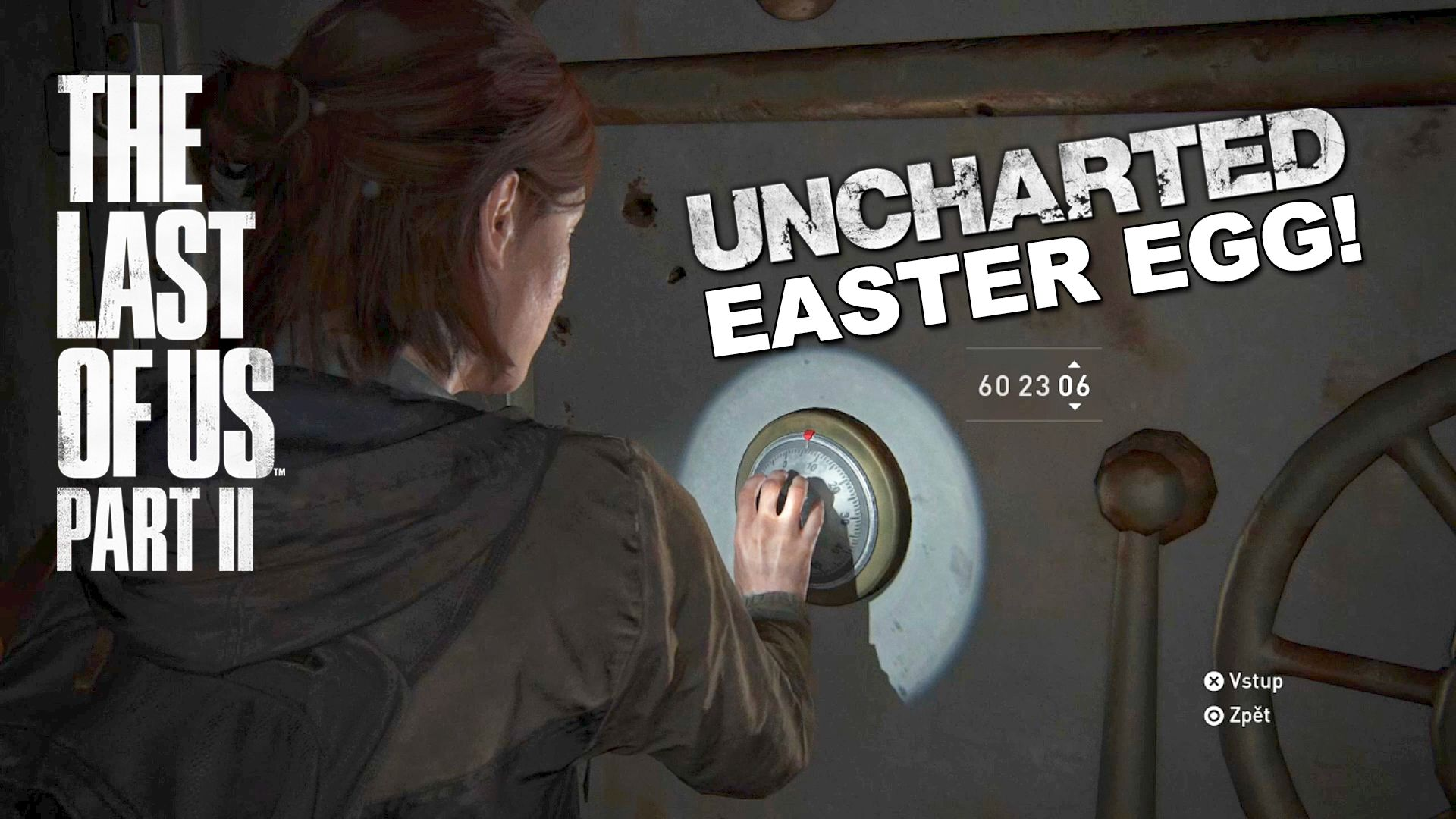 Uncharted Easter Egg in The Last of Us Part II