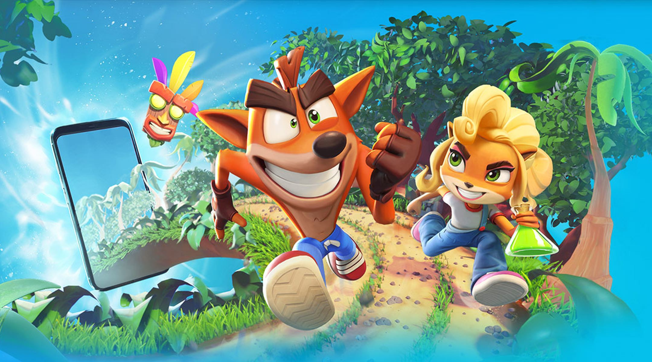 Crash Bandicoot On The Run Mobile Game