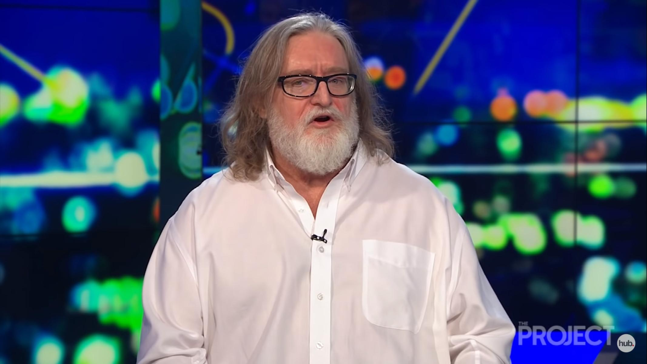 Gabe Newell The Project