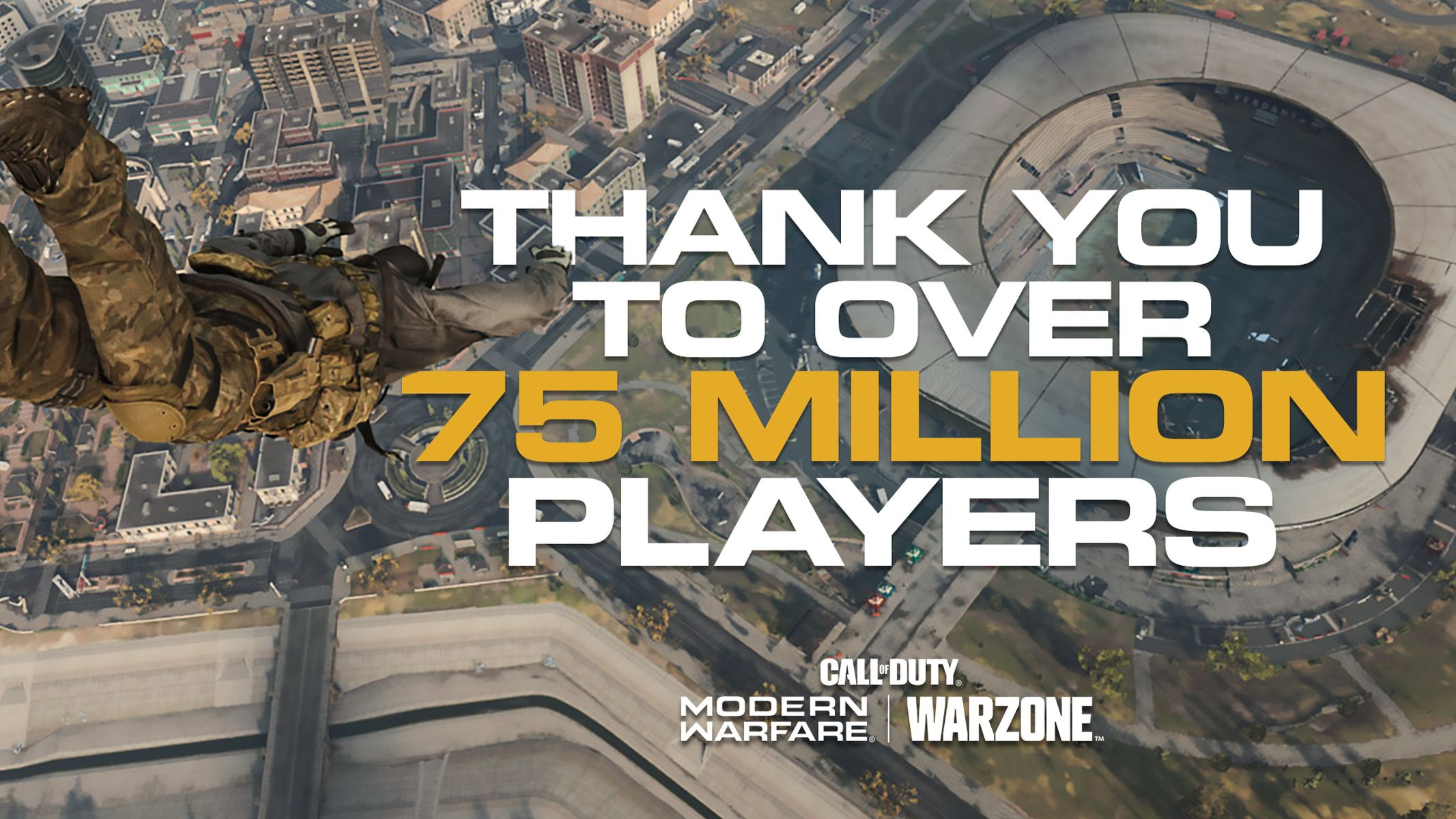 COD Warzone 75 million players