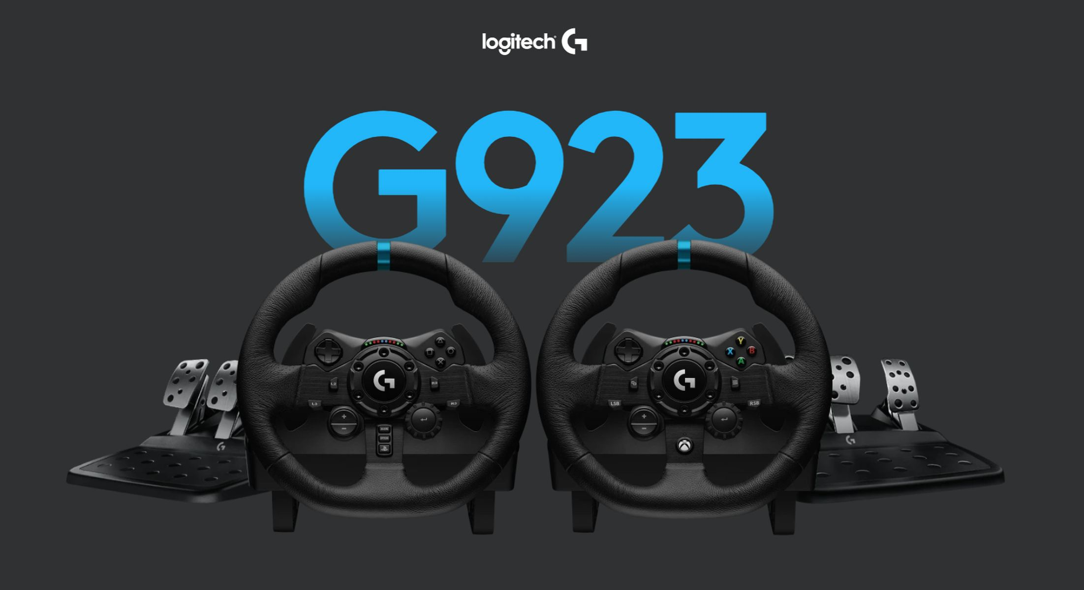 Logitech G923 Steering Wheel