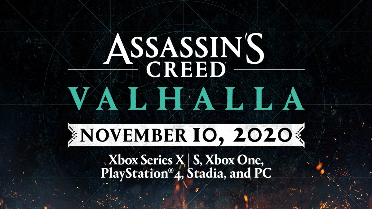 Assassins Creed Valhalla Datum Vydania