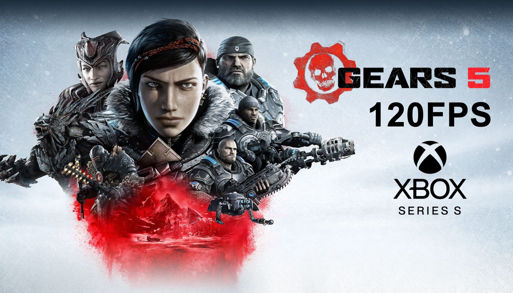 Gears 5 Xbox Series S 120fps
