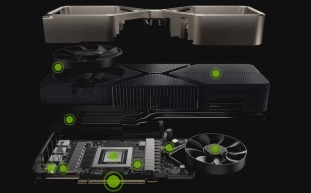 Nvidia Ampere Cooling System