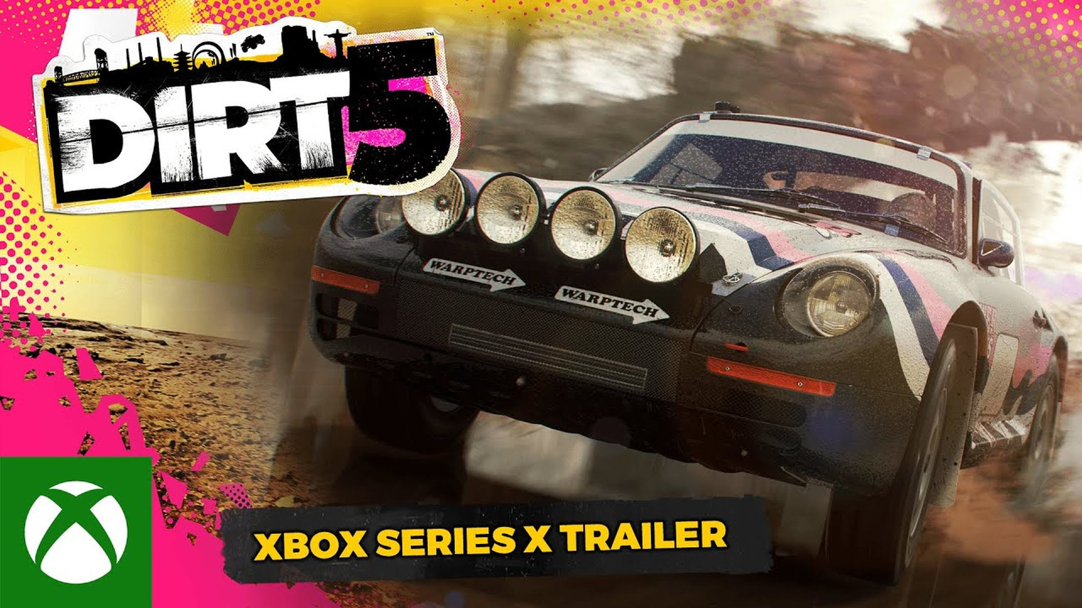 Dirt 5 Xbox Series X 120fps