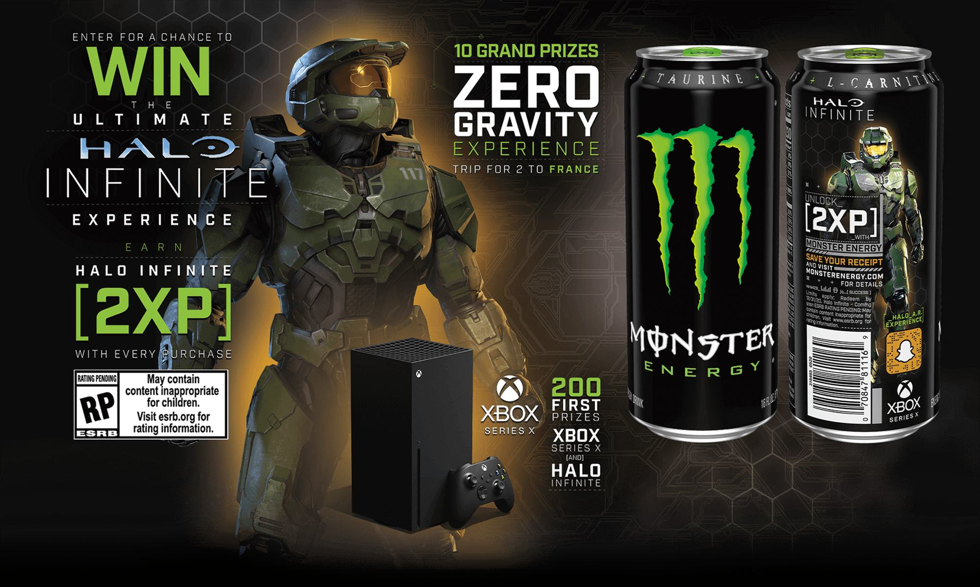 HALO 5 Free Download Monster Energy