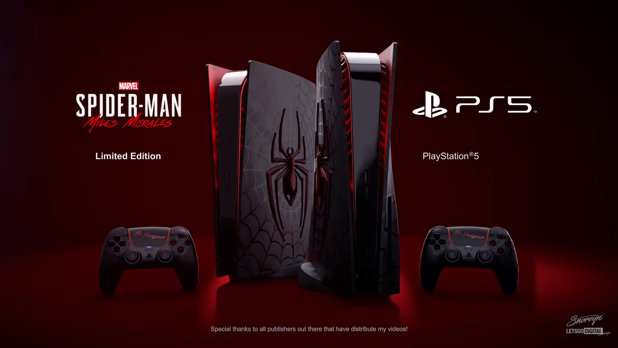 PlayStation 5 Spider-Man Edition