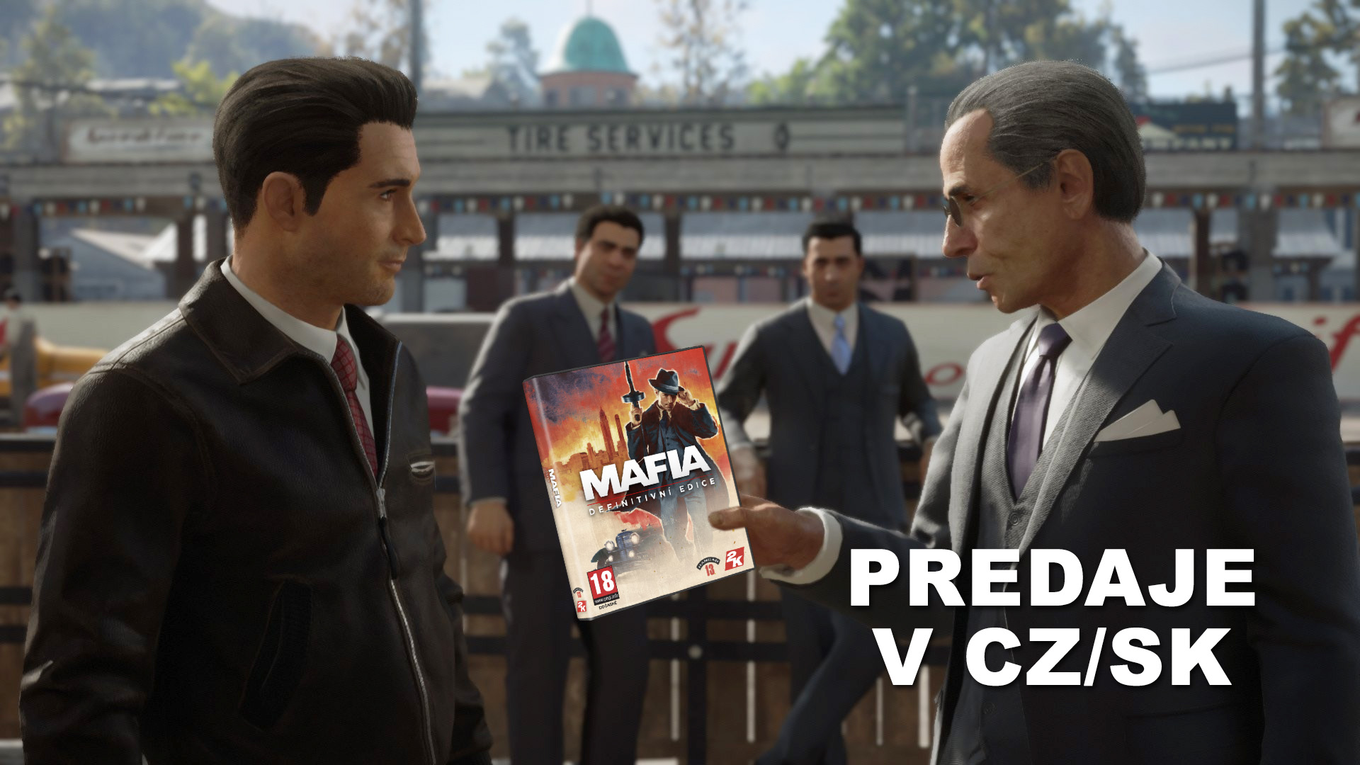 Predaje Mafia Definitive Edition v CZSK