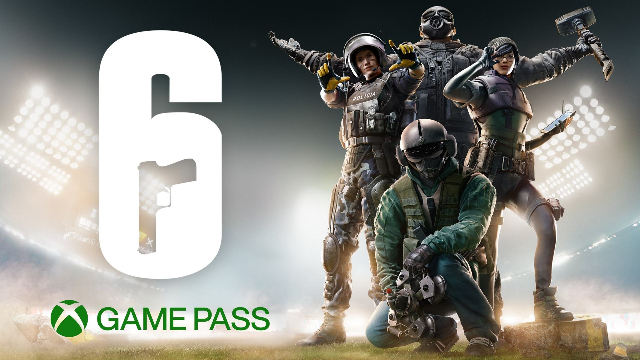 Rainbox Six Siege Xbox Game Pass